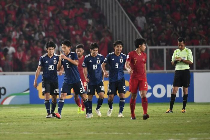 Timnas Indonesia dan Jepang