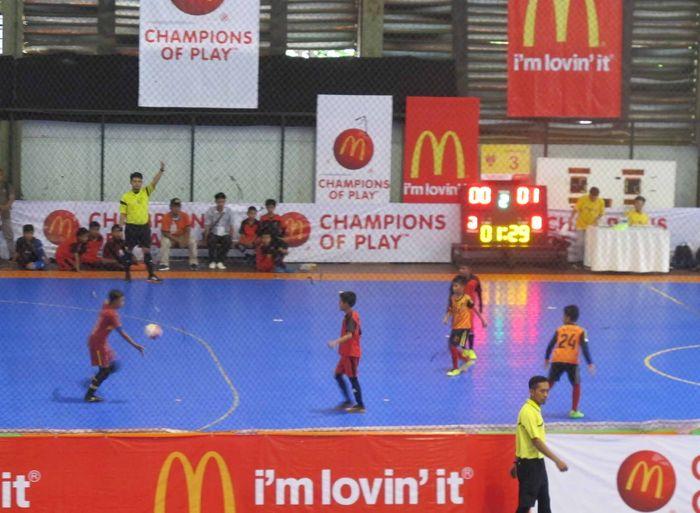 Babak Penyisihan McDonald's Junior Futsal Championship 2018 Wilayah Timur
