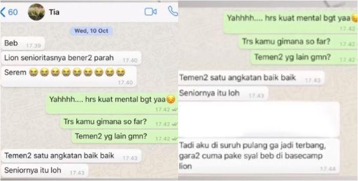 Curhat Trianingsih, Salah Satu Pramugari Korban Lion Air JT 610: Tak Tahan Kerja di Maskapai Gara-gara Ini (Youtube Shely Che)
