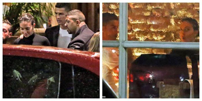 Kencan romantis Cristiano Ronaldo di Mila, Italia