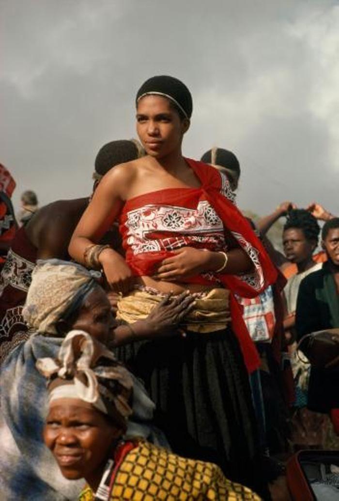 Putri Swazi dari Nongoma, Afrika Selatan.