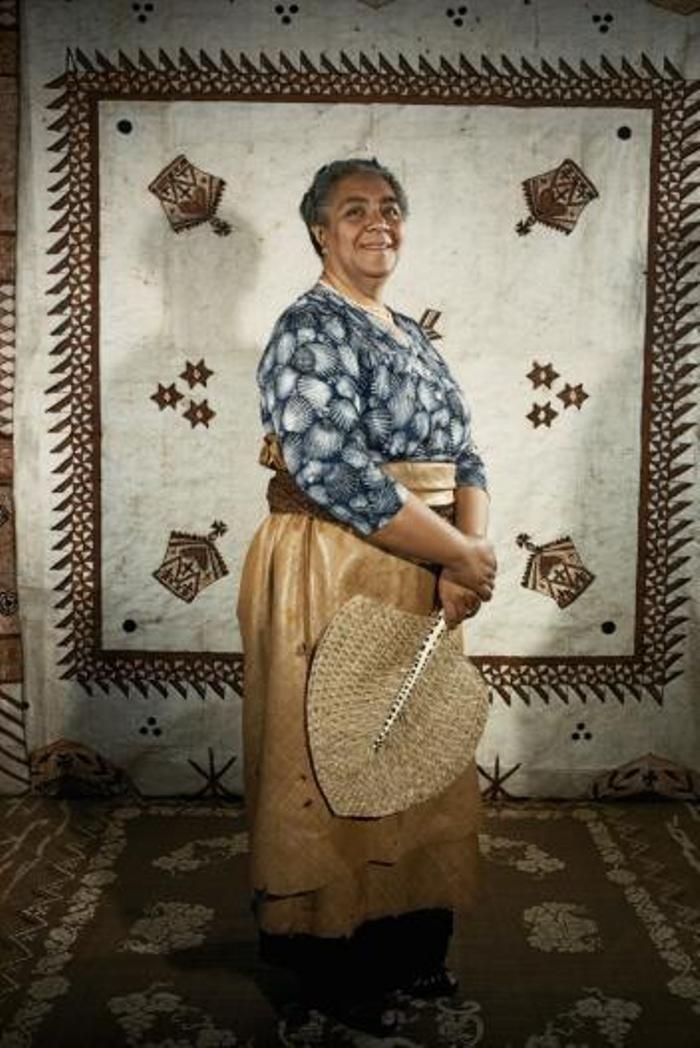 Ratu Salote Tupou III memimpin Pulau Tonga selama 48 tahun hingga meninggal pada 1965.