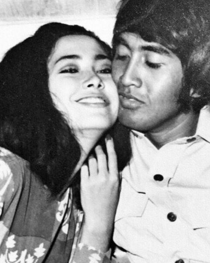 Potret lawas Widyawati dan Sophan Sophiaan