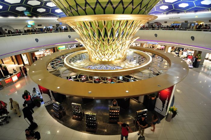 Abu Dhabi International Airport - Uni Emirat Arab