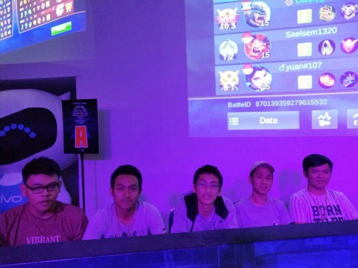 Tim Dharma Putra memenangkan match ketiga dengan skor 2-0