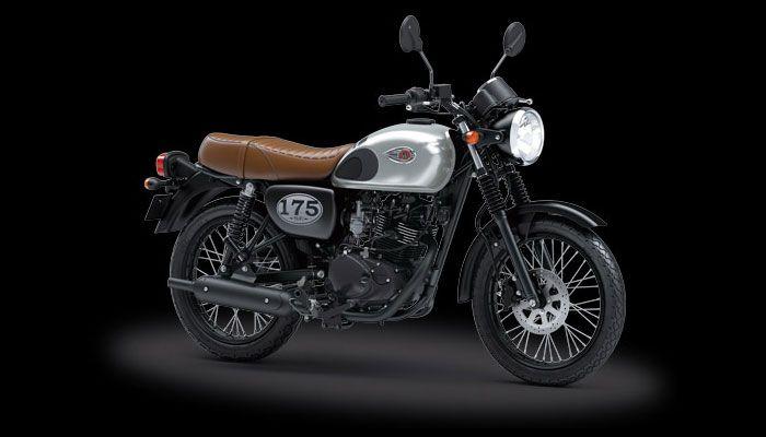 Kawasaki W175 jadi bahan custom aliaran klasik