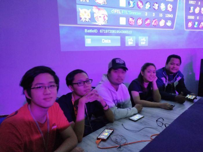 Tim BOI United di Battle on University