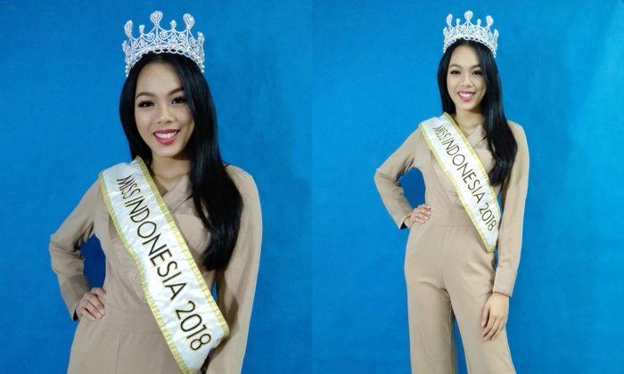 Miss Indonesia 2018 Alya Nurshabrina/Media Visit Kompas Gramedia Group, Kebun Jeruk, Jakarta/ (31/10)