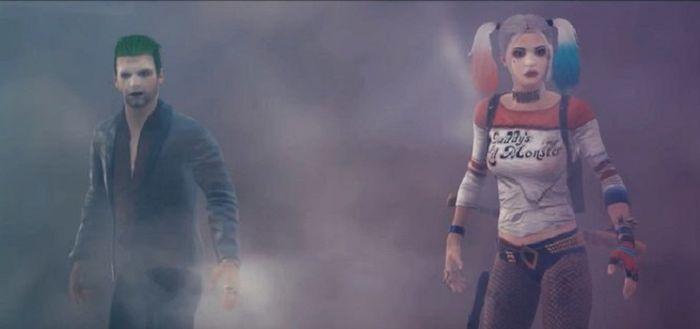 Skin Joker dan Harley Quinn dalam PUBG