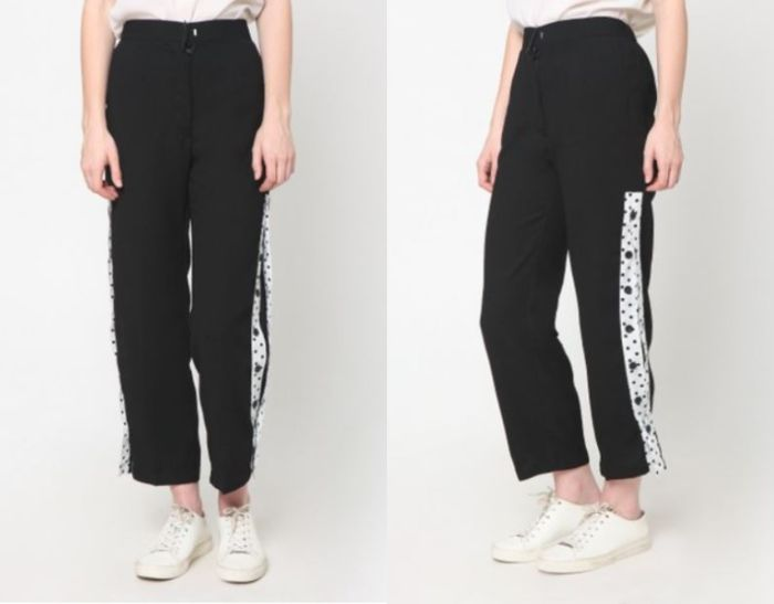 Heart and Feel Button Track Pants