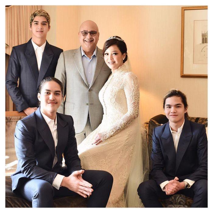 Keluarga sempurna Maia Estianty dan Irwan Mussry