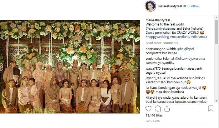 Instagram @maiaestiantyreal