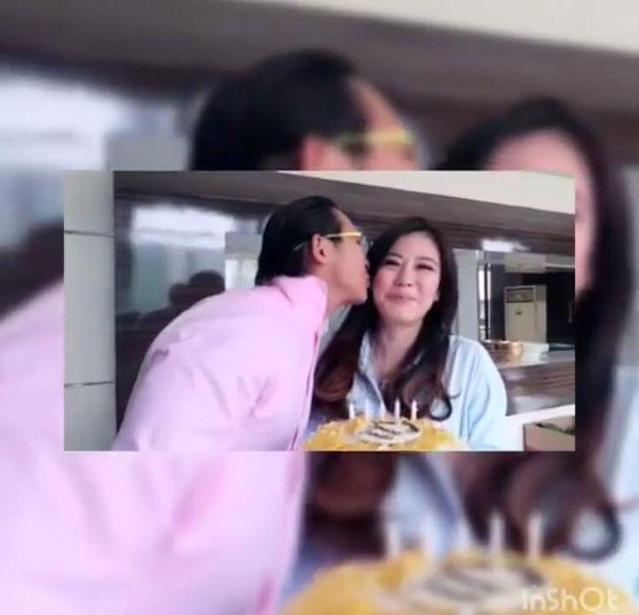 Fransen Sutanto dikabarkan dekat dengan Ayu Ting Ting, Ini sosok istrinya yang cantik