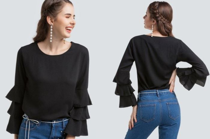 BarBar - Ruffled Sleeve