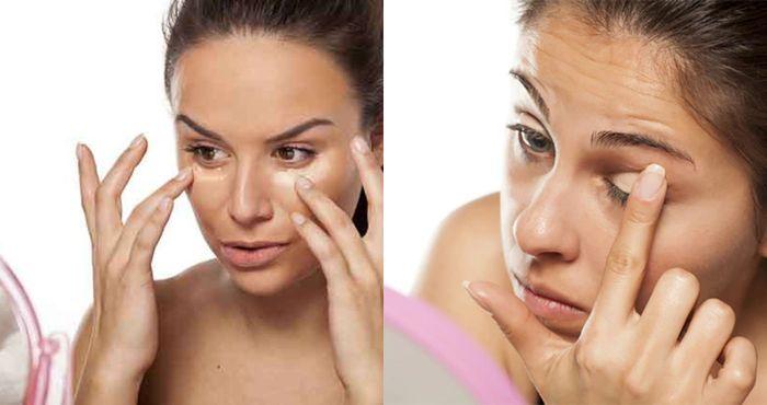 Cara mengaplikasikan makeup dnegan jari merupakan ciri khas dari proses  maekup effortless