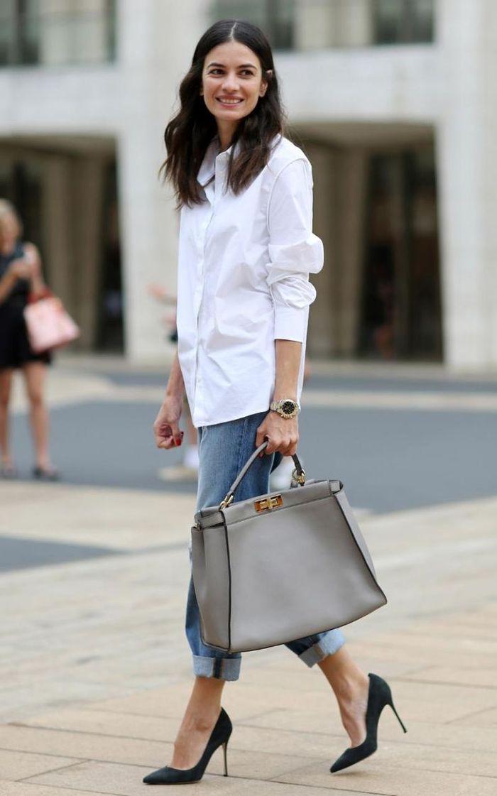 3 Fashion Item yang Wajib Dimiliki Fashionista Menurut Alva Susilo Stylist Langganan Prilly Latuconsina - Kemeja Putih