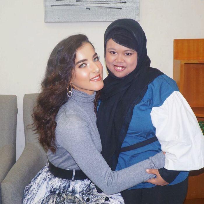 Rahmawati Kekeyi Putri Cantikka bertemu dengan Tasya Farasya.