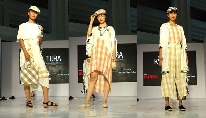 Hadir Koleksi Aksesori Berupa Topi dan Tas Motif Geometrik Koleksi Kultura di Jakarta Fashion Trend 2019