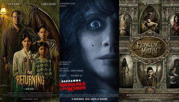 6 Film Horor Indonesia yang Akan Tayang Pada November 2018, Berani Nonton?
