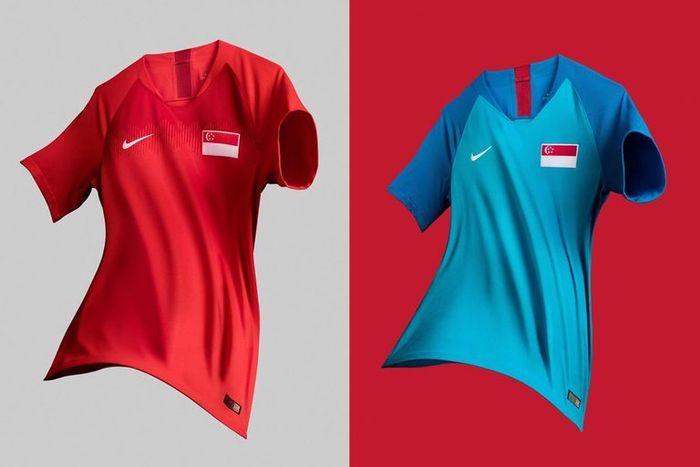 Jersi timnas Singapura di Piala AFF 2018