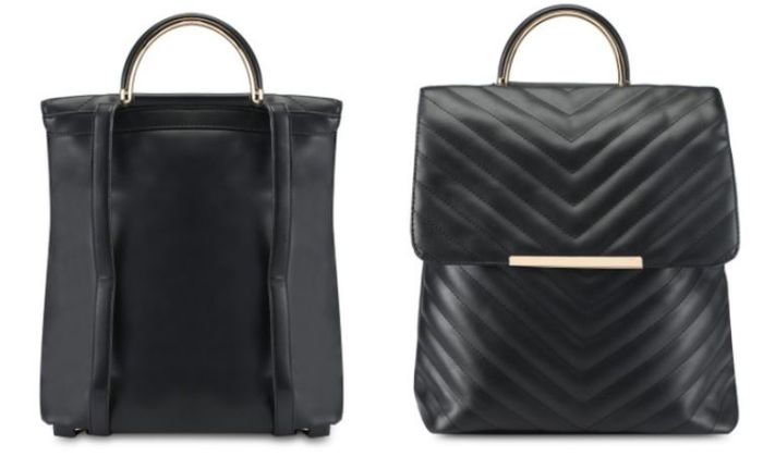 ZALORA Quilted Backpack With Top Handle
