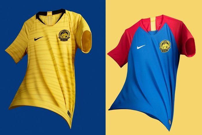 Jersi timnas Malaysia di Piala AFF 2018