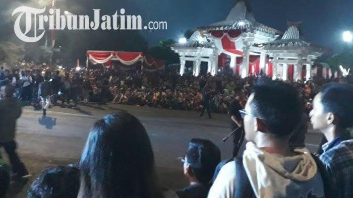 Pementasan drama kolosal 'Surabaya Membara' pada Jumat, 9 November 2018