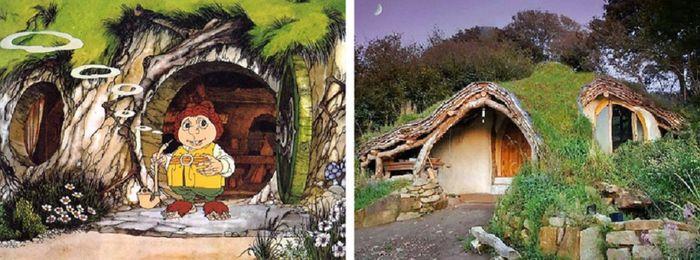 Rumah di film kartun yang ada di dunia nyata