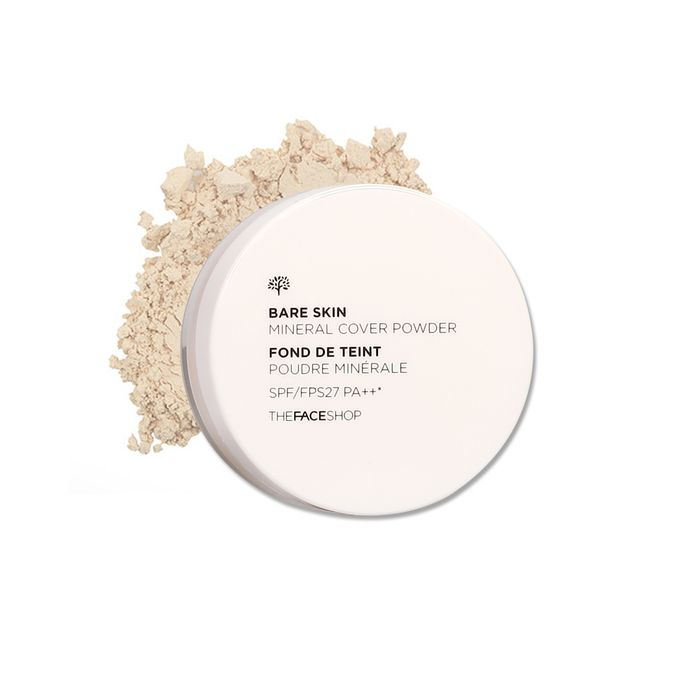 The Face Shop Bare Skin Mineral Cover Powder