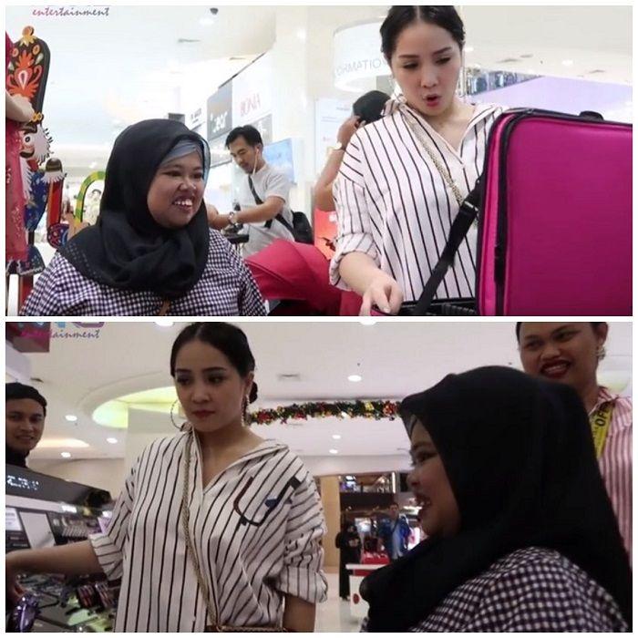 Keseruan Rahmawati Kekeyi berbelanja bersama Nagita Slavina
