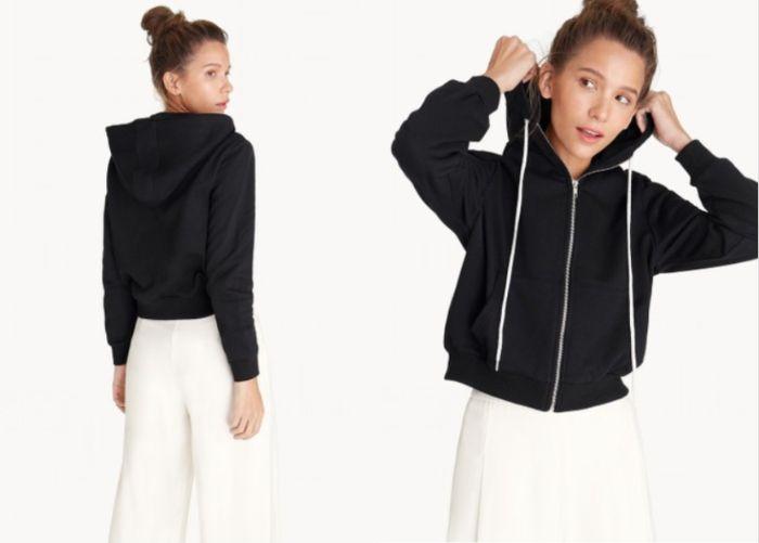 Jaket diskon di Harbolnas 11.11 dari Front Zipped Hoodie