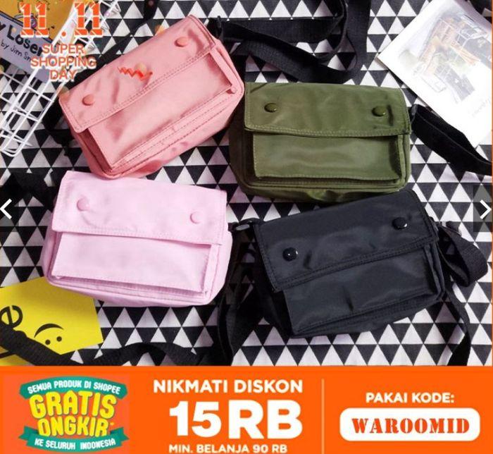 Waroomxkm.id - Sling Bag kotak