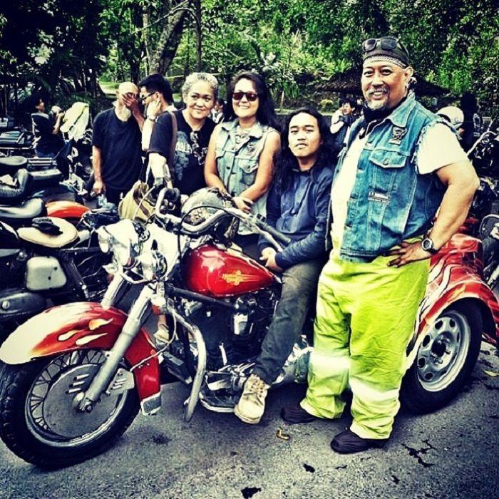 instagram @indrowarkop_asli Kekompakan Indro Warkop dengan Handika Indrajanthy Putri alias Ipoet dan Harleyano.