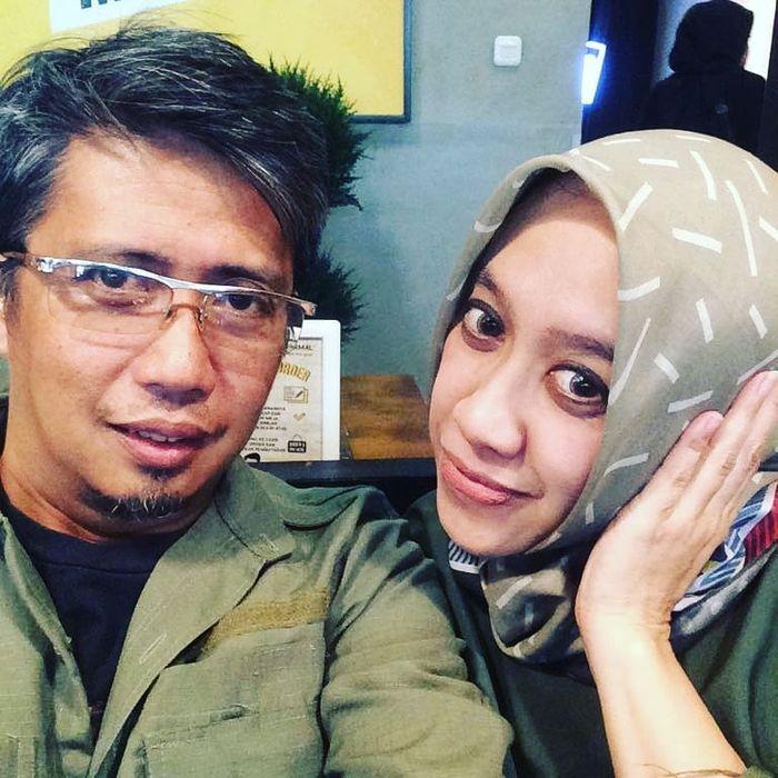 Mantan Suami Mulan Jameela dan istrinya