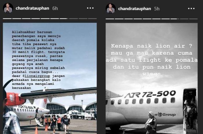 Dianggap Memojokkan Lion Air Group, Suami Nina Zatulini Mengaku Diminta Pihak Maskapai untuk Menghapus Postingannya
