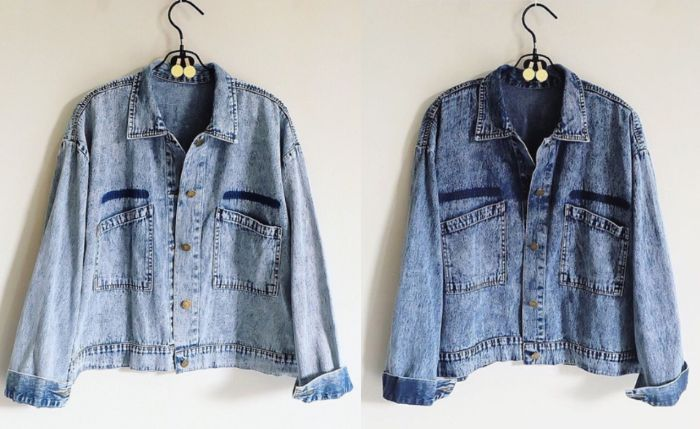 Oversize Jacket Denim