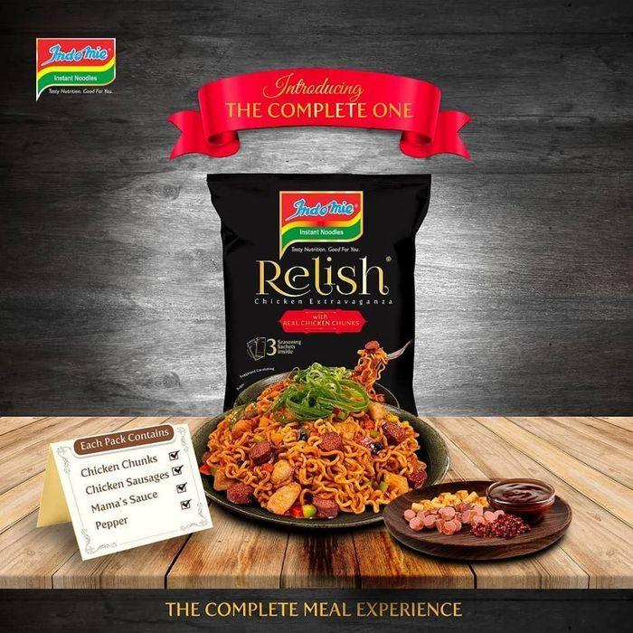 Indomie Relish Chicken Extravaganza