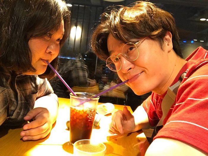 Nanda dan Jun yang sekarang tinggal di Korea