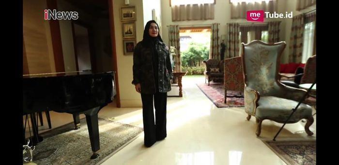 Interior rumah <a href='https://bangka.tribunnews.com/tag/sarita-abdul-mukti' title='SaritaAbdulMukti'>SaritaAbdulMukti</a>