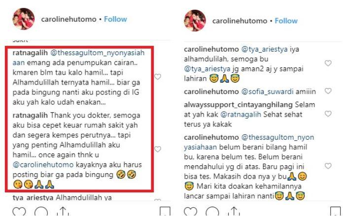 Klarifikasi Ratna Galih tentang kehamilannya