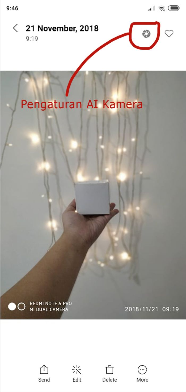 cara pakai AI kamera di Xiaomi