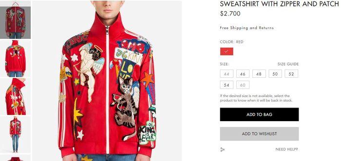 Harga jaket Hotman Paris yang dibeli di London