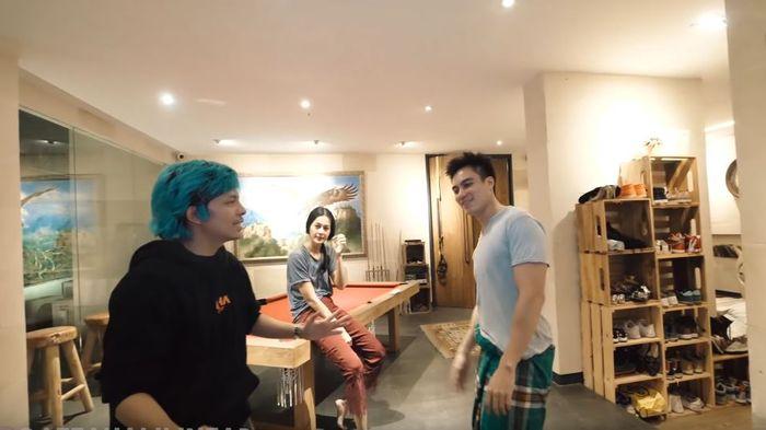 Atta Halilintar gerebek rumah Baim Wong dan Paula (Youtube Atta Halilintar)