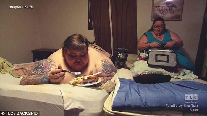 Pasangan Lee dan Rena tak pernah berhubungan intim selama 11 tahun karena obesitas