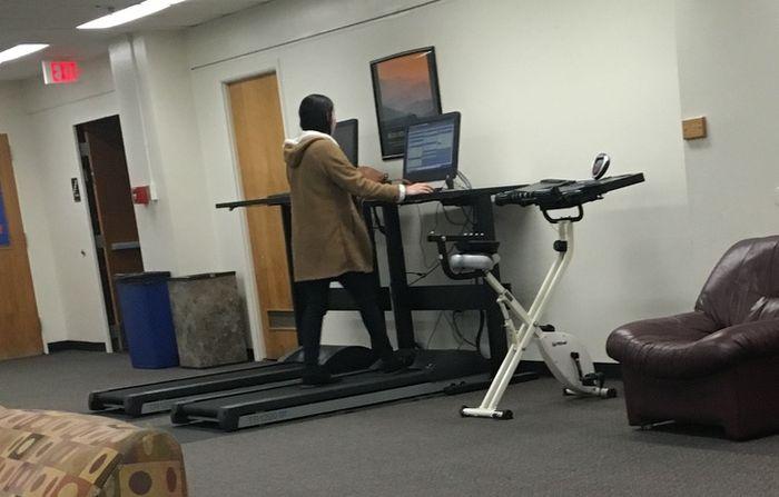 Treadmill dengan komputer