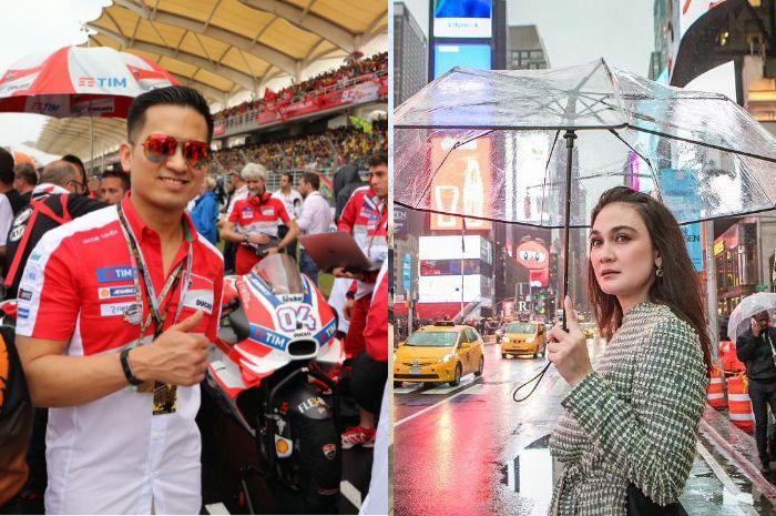 Luna Maya ketahuan goda Faisal Nasimuddin
