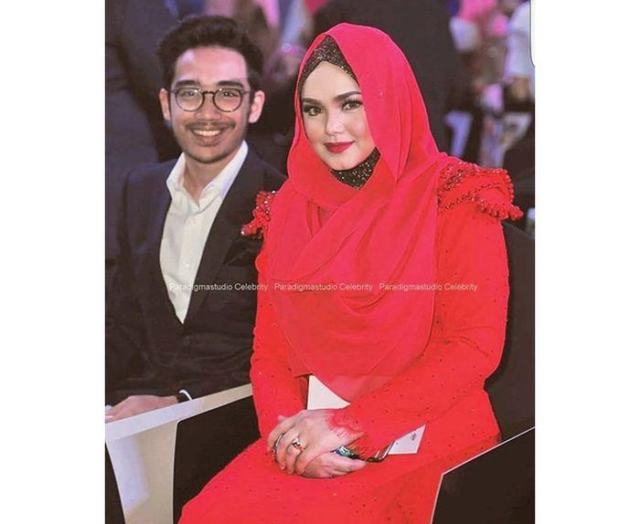 Aazief bersama Siti Nurhaliza