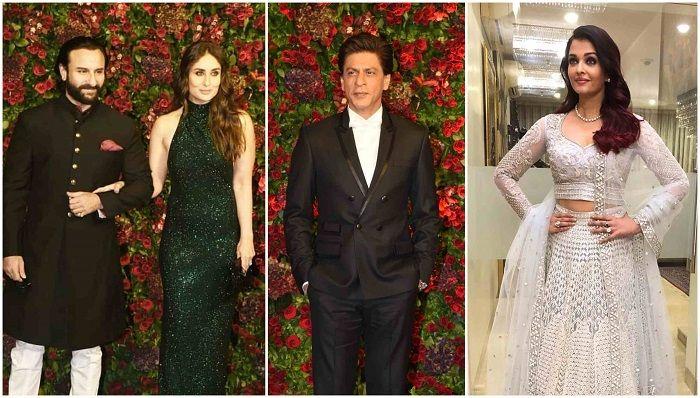 Para bintang Bollywood hadir dalam pernikahan Deepika Padukone
