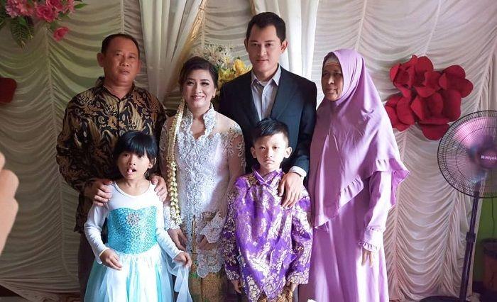 Ferry Anggara saat menikah