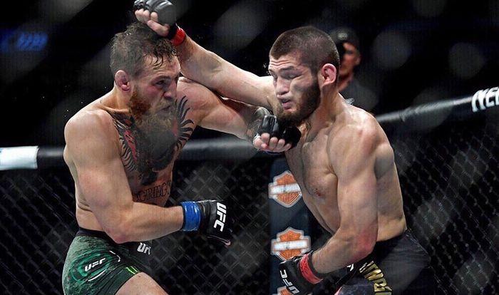 McGregor vs Khabib Nurmagomedov di UFC 229